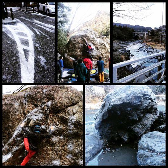 Mitake Climbing Bouldering クライミング ボルダリング