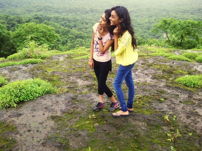 At the highest point of Kanheri Caves.. Kanheri Caves Mumbai Monsoon Enjoying The Weather Beautiful Nature Eye4photography  EyeEm Nature Lover Authentic Moments Photos Around You My Baby Cousin ❤