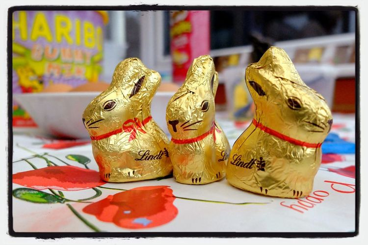 Ready and waiting for kids to arrive... Chocolate, rainy day, wgat could go wrong? Bournemouth Enoughsaid Easter