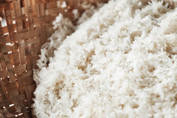 Close-Up Of Rice