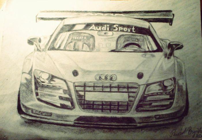 My Drawing Audi ♡