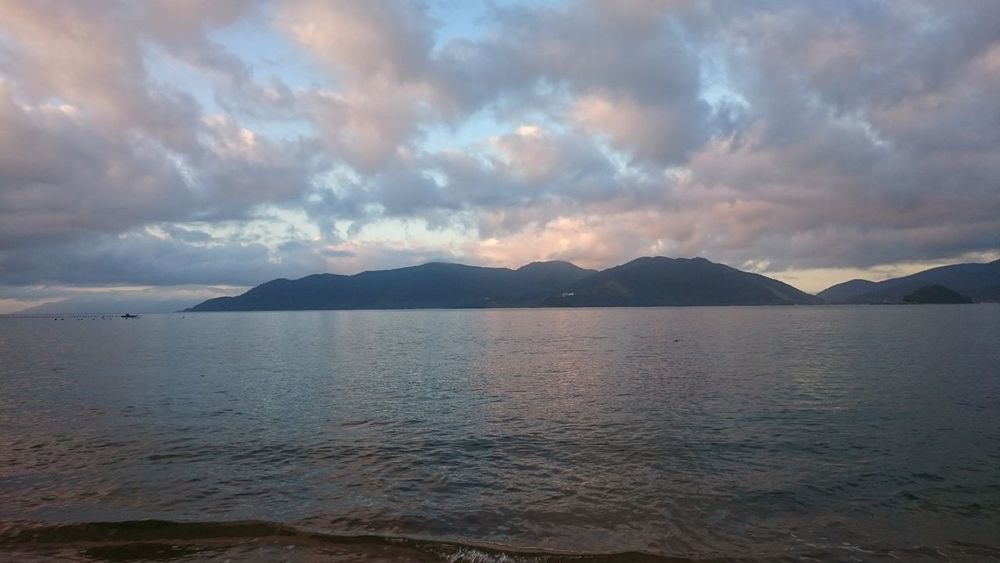 Amanhecer Landscape Tranquility Sea Beauty In Nature