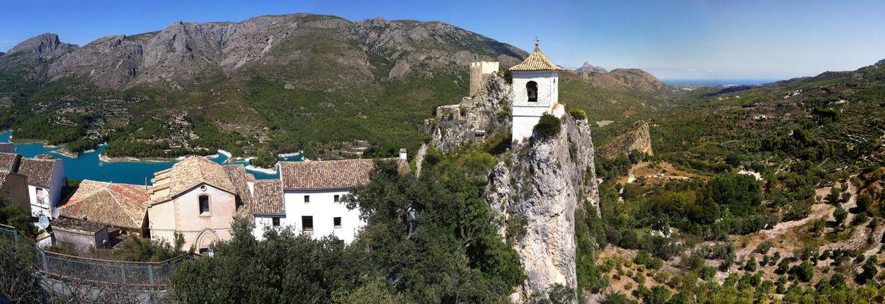 Architecture Building Exterior Culture Famous Place Guadalest History Human Settlement Mountain Outdoors Tourism