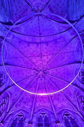 Marienkirche Reutlingen Orgelkonzert Lamps Collection Church Lights In The Dark Architecture_collection Medieval Architecture Light And Shadow Relaxing Lightshow Violett Color Kirchenschiff