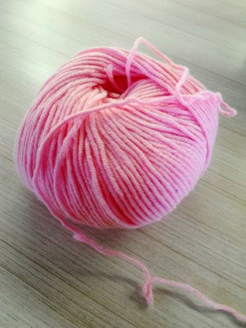 EyeEm Vision YaksCollection Pink Color Table Close-up No People Indoors  Freshness Day Knitting Yarn Indoor Photography Knitter