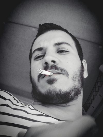 First Eyeem Photo Blackandwhite Smoking