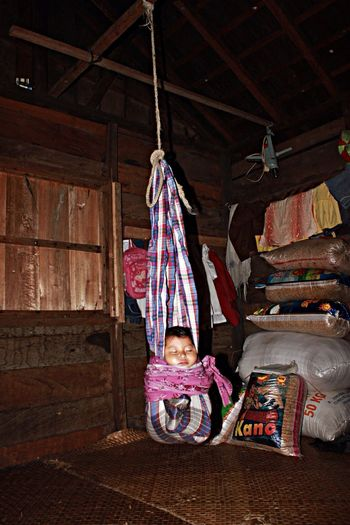 Unique baby keeping. I take this photograph when I did a research back in 2012 in Kalimantan INDONESIA . Babies Baby Anthropology People Documentary EyeEm Best Shots The Human Condition