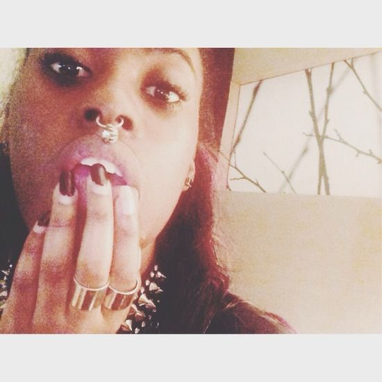 Natural pink lips, need to do the nails tho Lips Lip Service Jewelry Eyes