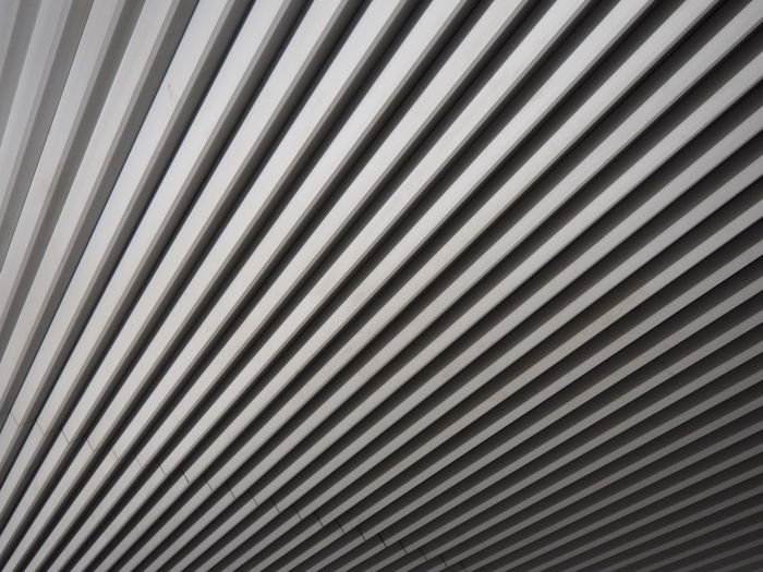 Abstract Architecture Backgrounds Close-up Day Full Frame Metal No People Outdoors Pattern Silver - Metal Striped Textured