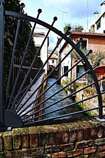 Treviso Treviso Italy River Water Architecture Lancia Ringhiera