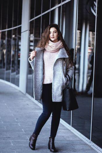 Model Girl Foto City Life