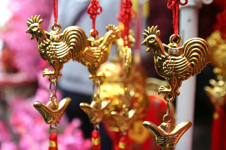 Cultures Gold Colored No People Gold Imlek 2016 Lunar New Year Close-up Lion - Feline Sculpture Day Precious Gem