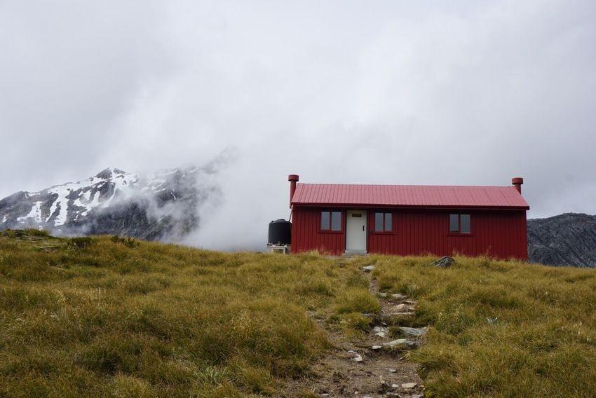 Brewster Hut, 1500meter above sealevel. It was quite a challenging, steep walk NNew Zealand Scenery