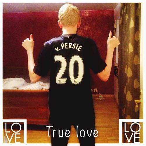 To RVP with love Manchester Manchester United Robin Van Persie! 20