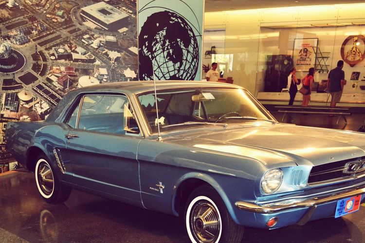 Wish I could crop the people out without messing up the photo its self Ford Mustang Mustang American Muscle Vintage Oldschool Show Car