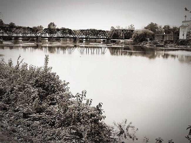 Reflection Water Architecture Bridge
