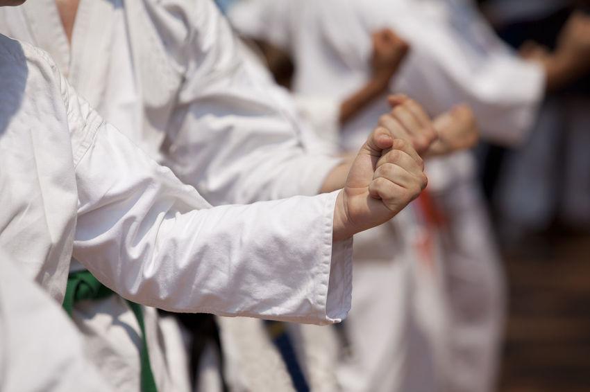 Karate Exercise Fight Karate Punch Martial Art Power Practice Skill  Defense Fist Hand Strike Human Hand Karate Karate Belts Karate Class Karate Training Karate Uniform Karateka Kata Kimono Position Practitioner Self-defense Sport Strength Unrecognizable Person