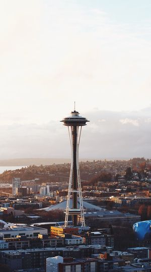 Architecture Built Structure No People Cityscape City Seattle PNW Pnwlife Pnwexplored Spaceneedle