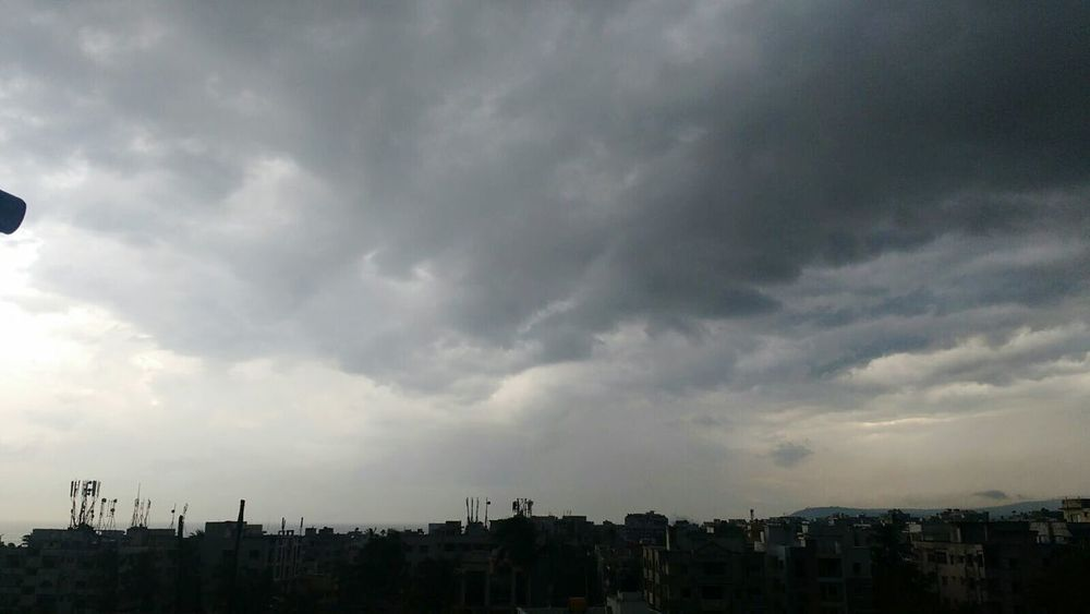 Eye4photography  Time Pass  EyeEm Nature Lover Visakhapatnam Terrace Clouds And Sky Cityscapes Buildings & Sky