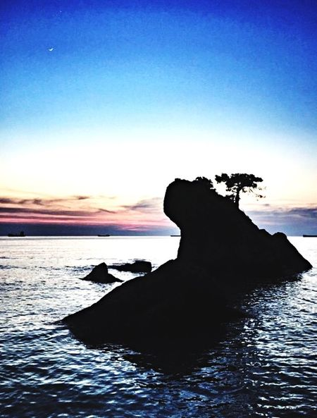 Seaside Sea And Sky Inkum Blue See Rainy Days Sunrise Sunshine Sunset_collection Sunset