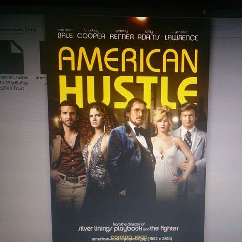 this is absolutely one of the most interesting movies ever launched in the past year Americanhustle FavoriteMovieofTheYear Movietime  Random insta