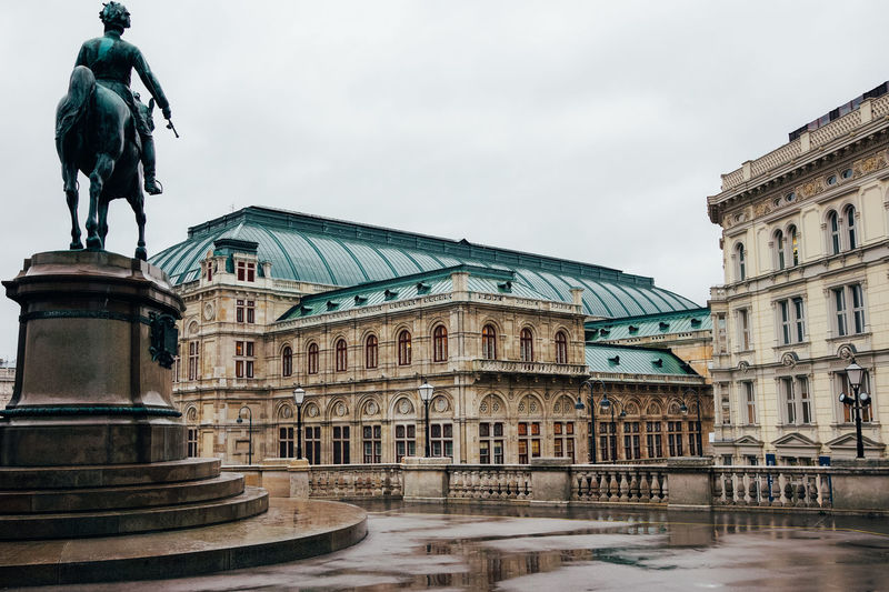 Vienna Opera House (Wiener Staatsoper) Architecture Austria City Music Sightseeing Travel Vienna Architecture Art And Craft Built Structure Famous Place History Human Representation Opera House Operahouse Sculpture Staatsoper Statue Tourism Travel Destinations Wien
