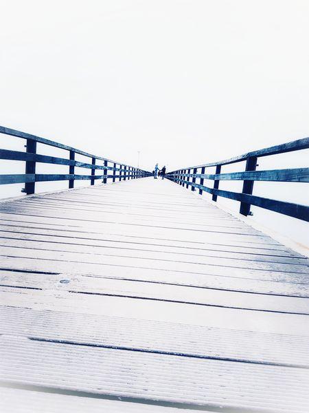 Grömitz Baltic Sea Bridge Weekendmood ThatsMe No People Outdoors Day Nature Sky