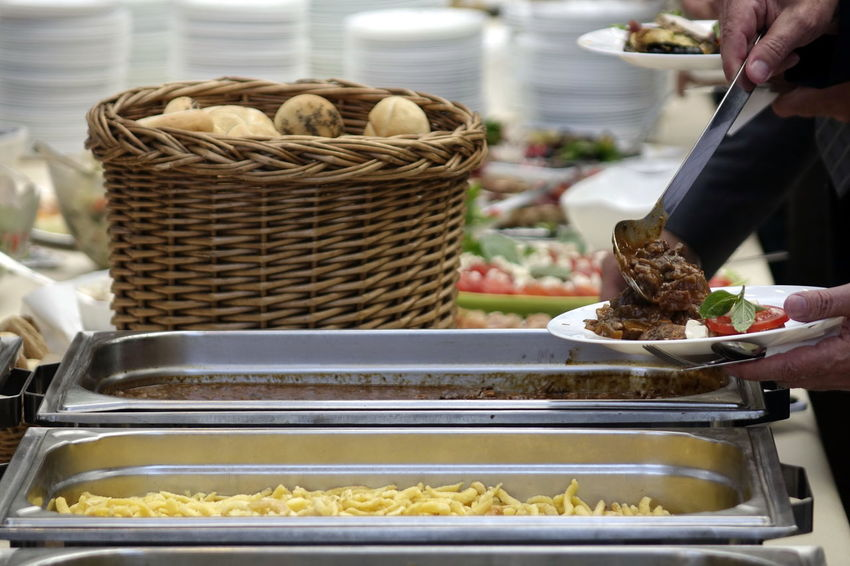 Adult Basket Catering Catering Food Close-up Day Food Food And Drink Freshness Holding Human Body Part Human Hand Indoors  Men One Person People Ready-to-eat Real People