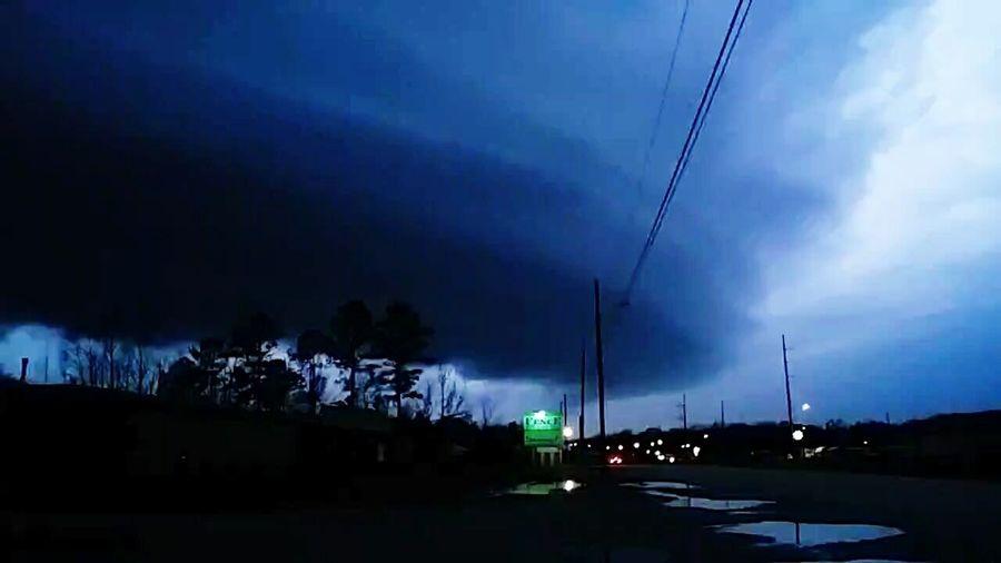 TornadoWarning Tornadoseason Tornado FormingJemison Alabama