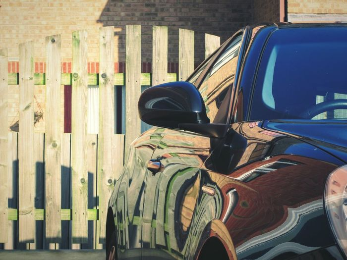 hope eveyone is having a cool May Day 😎😎😎😘 ( if your Country celebrates it, ofcourse!) great reflections in this fancy car, love the way the landscape melts....the late Mr S. Dali would approve!! 😎😆🙋💙💙💙 Transportation Stationary Close-up Reflection Fences & Beyond Sunshine Shiny Cars Lindsay's Shiny Things Lindsay's Initial Concepts Break The Mold Looking To The Other Side Spring 2017 May Day 2017 Swirl Abstract Women On The Spectrum Lindsay's Urban Discoveries Outdoors Imagination Collection Outside The Box