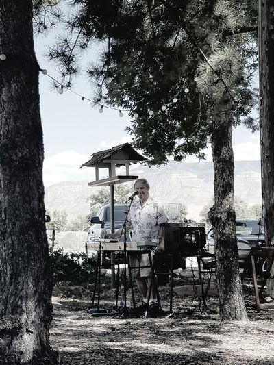 Tree Adult Performance Performers Singer Songwriter Singer-songwriter Saturday Afternoon Winery View Music Musical Instrument