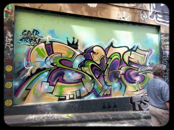sage Graffiti Streetart Hosier Lane