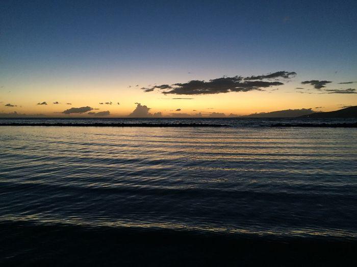 Maui sunset Sky