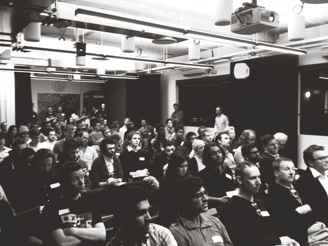 Full house at Seedhack