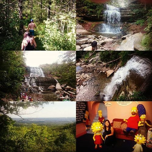 Summing up my birthday weekend... A memorable birthday for sure. Thefalls 21 Birthday HamiltonFalls Hiking AlbionFalls SmokeyHollow Borersfalls