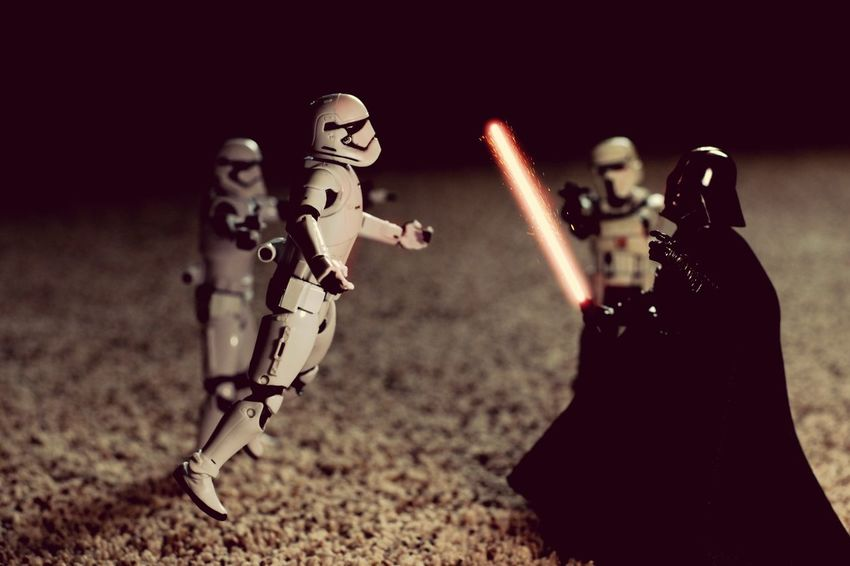 EyeEm Selects Star Wars The Black Series Toyphotography Lightsaber Stormtroopers Darth Vader