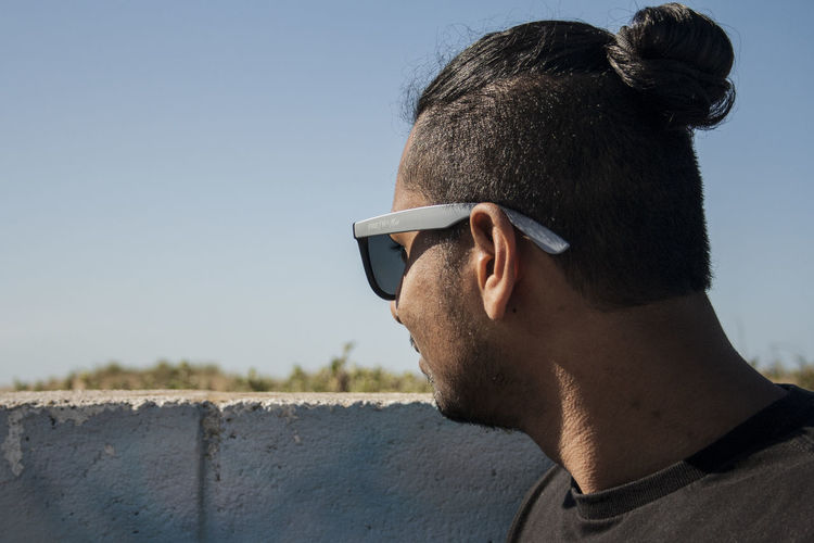 My best mate looking out over the bay. Adult Afternoon Bay Beach Best Friends Clear Sky Close-up Day Glasses Headshot Men One Man Only One Person One Young Man Only Only Men Outdoors People Potrait Seaside Sky Sunglasses Young Adult