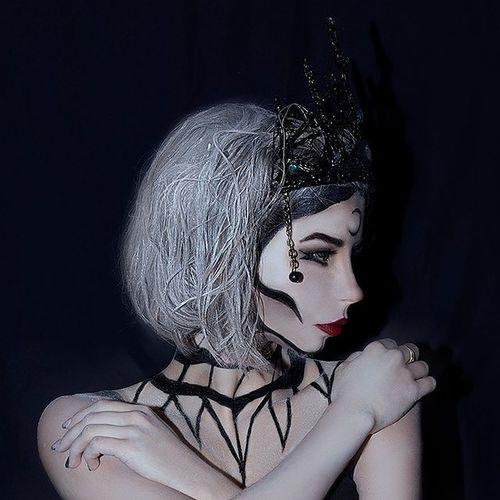 Art Artfoto Girl Makeup Gothic Women