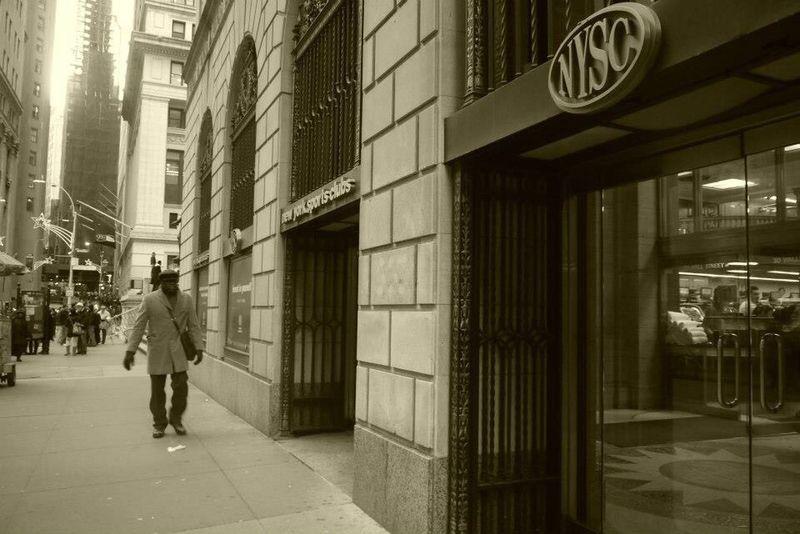 NY Nysc Street Man