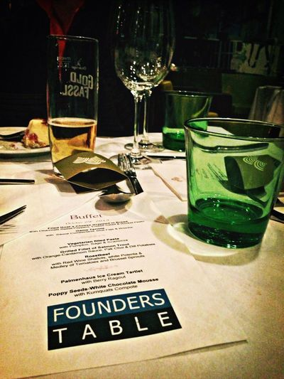One of the best traditions at Pioneers Founderstable