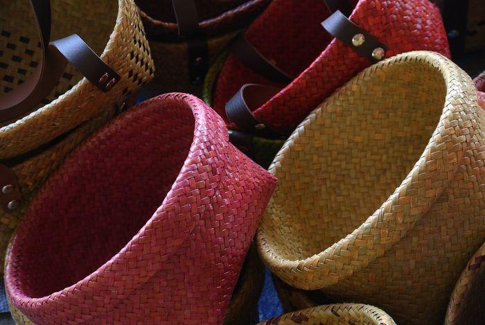 Basket Basket Weave Close-up Handicraft Handmade Indoors  No People Thai Handicraft