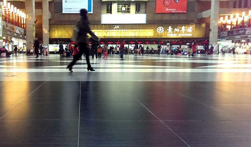 Train station in Taipei Public Transportation Basicmedia Taking Photos Walking Around