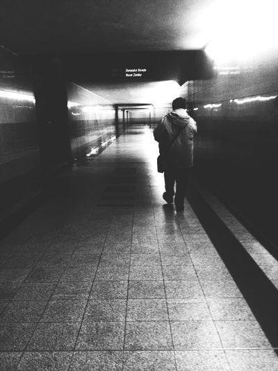 Train Train Station Traveling Blackandwhite Streetphotography People People Watching Stalker Underground Randomshot Taking Photos IPhoneography The Street Photographer The Street Photographer - 2017 EyeEm Awards