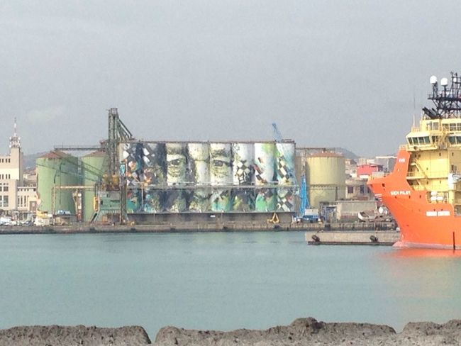 Abstract Texture Graffiti Ship Sea And Sky Love Graffiti Art Silos EyeEm Best Shots Vhils Sun Waiting
