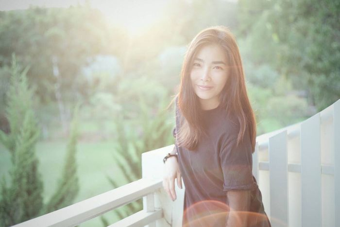 You make me smile 😊😊😊 Relaxing Beautiful Surroundings Good Times Lifestyle Holiday Trip Photo Hello World Smile Thaiwoman Nice Atmosphere