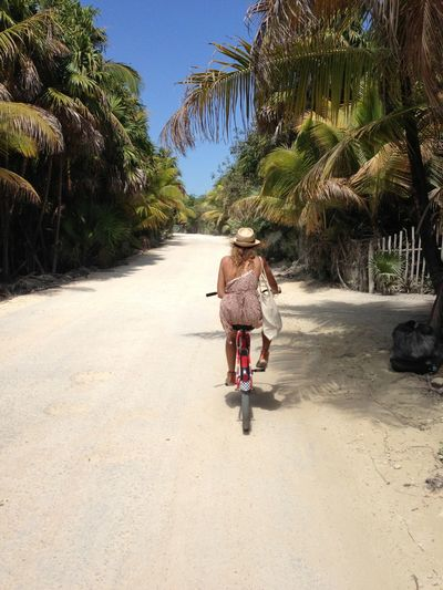 Tulum Riviera Maya Mexico Cycling Cruising Nature Bike NatureReserve Travel