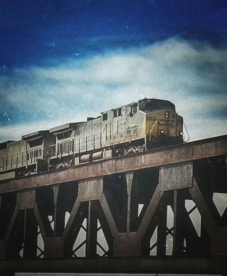 Trains locomotives Bridges