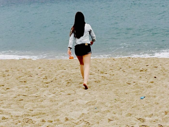 Walking on the sand😋 Calabria Bestmemories
