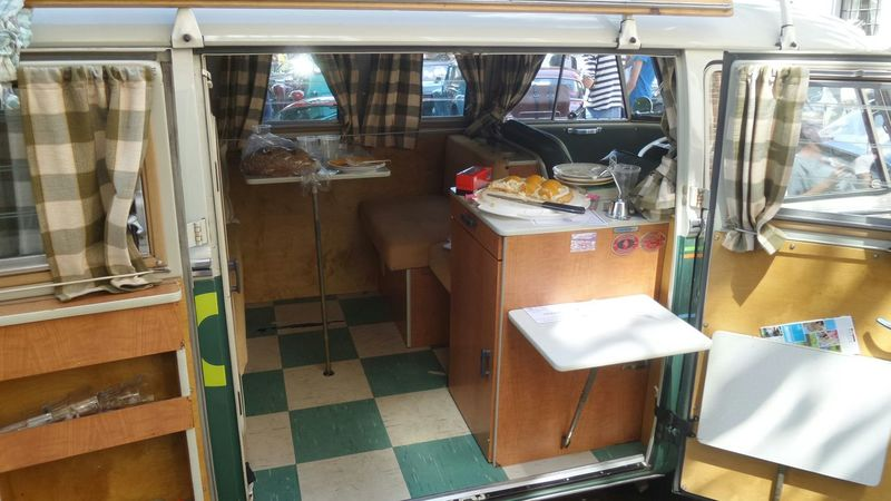 Come to eat at the camping No People Vacations Summer Volkswagenbus VW Bus Hollyday Rv German Classic