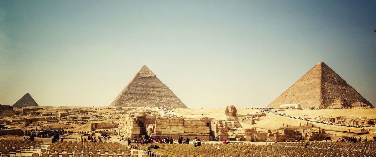 It has been long time ago our lovely friends.. Greetings from the Pharaohs land. Giza Pyramids Pyramids Egypt Holiday Pharaoh Destination Tadaa Community Landscape Vacation The Week Of Eyeem This Week On Eyeem Everyday Joy Architecture The Seven Wonders Of World